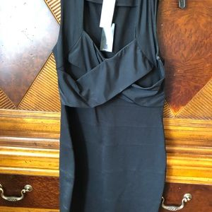 NWT express black dress